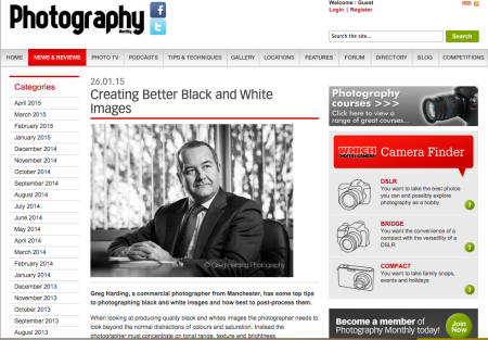Photography Monthly SEO