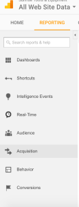 Penguin real time update in Google Analytics