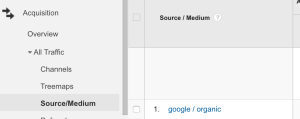 Finding Google Penguin Update in Analytics