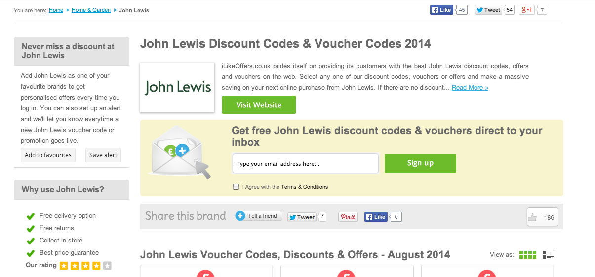 John Lewis Broadband Promo Codes for November, Save with 3 active John Lewis Broadband promo codes, coupons, and free shipping deals. 🔥 Today's Top Deal: Save 25% and get free shipping. On average, shoppers save $28 using John Lewis Broadband coupons from attended-brilliant.ml