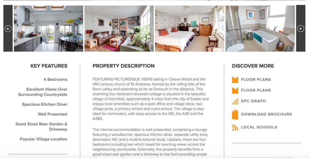 Property descriptions seo